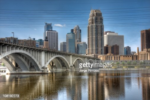 Minneapolis from St. Anthony Falls