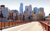 Minneapolis, Minnesota from Stone Arch Bridge
