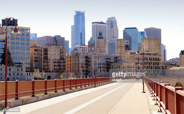 Minneapolis, Minnesota from Stone Arch Bridge