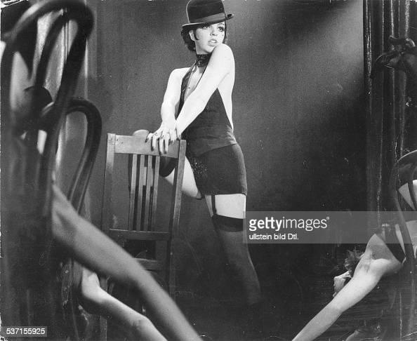Minnelli Liza Schauspielerin Saengerin USA Szene aus dem Film 'Cabaret' Regie Bob Fosse USA 1972