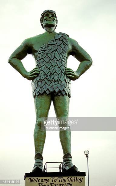 Minnesota Blue Earth Statue Of The Jolly Green Giant