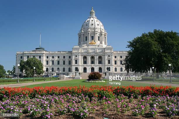 Minnesota Capitol Garden View