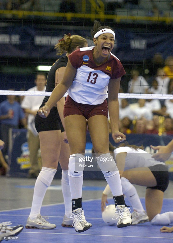 Erin Martin ncaa women's volleyball - final four - usc vs minnesota - december