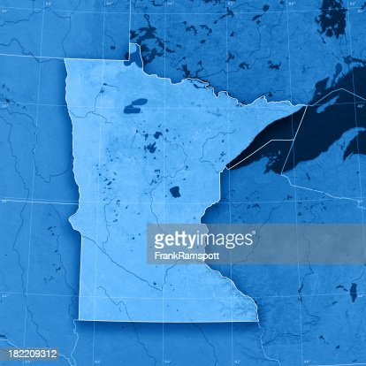 Minnesota Topographic Map