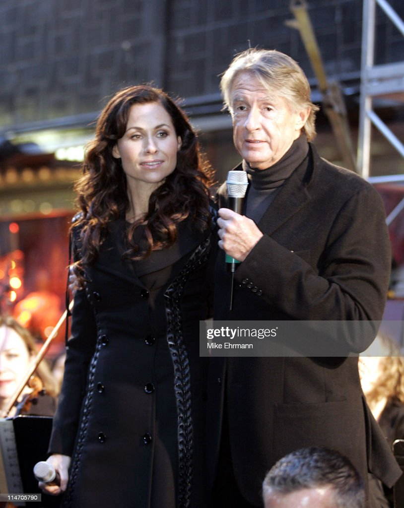 Minnie Driver and Joel Schumacher during Unveiling of 'The Phantom of the Opera' Themed Holiday Windows at Bloomingdales at Bloomingdales in New York...