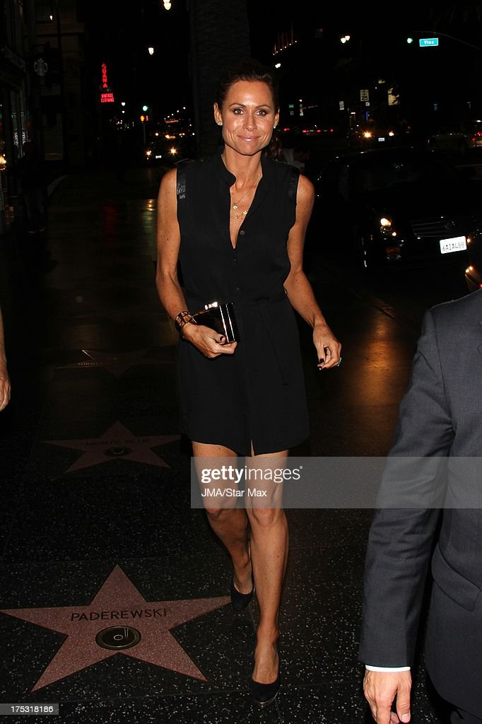 Minnie Driver as seen on August 1, 2013 in Los Angeles, California.