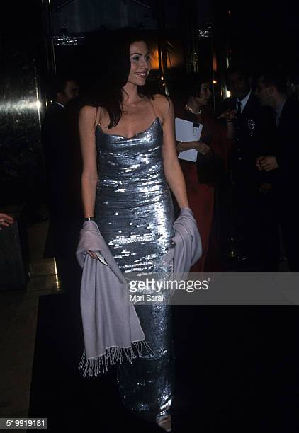 Minnie Driver at the Metropolitan Museum's Costume Institute gala exhibition of 'Rock Style' at the Metropolitan Museum of Art New York New York...