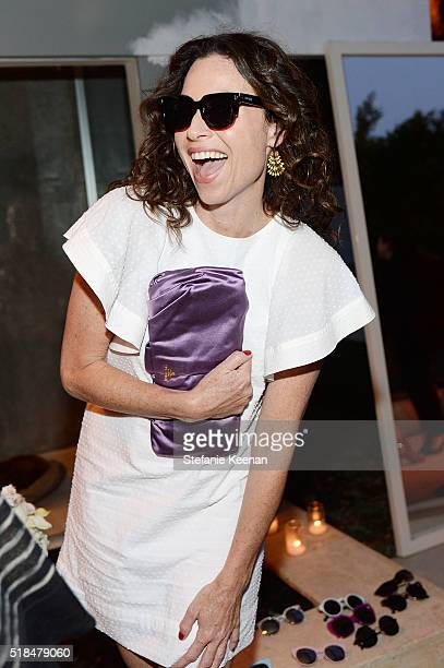 Minnie Driver attends Imagine Vince Camuto Launch Event at the Home of The A List's Ashlee Margolis on March 31 2016 in Beverly Hills California