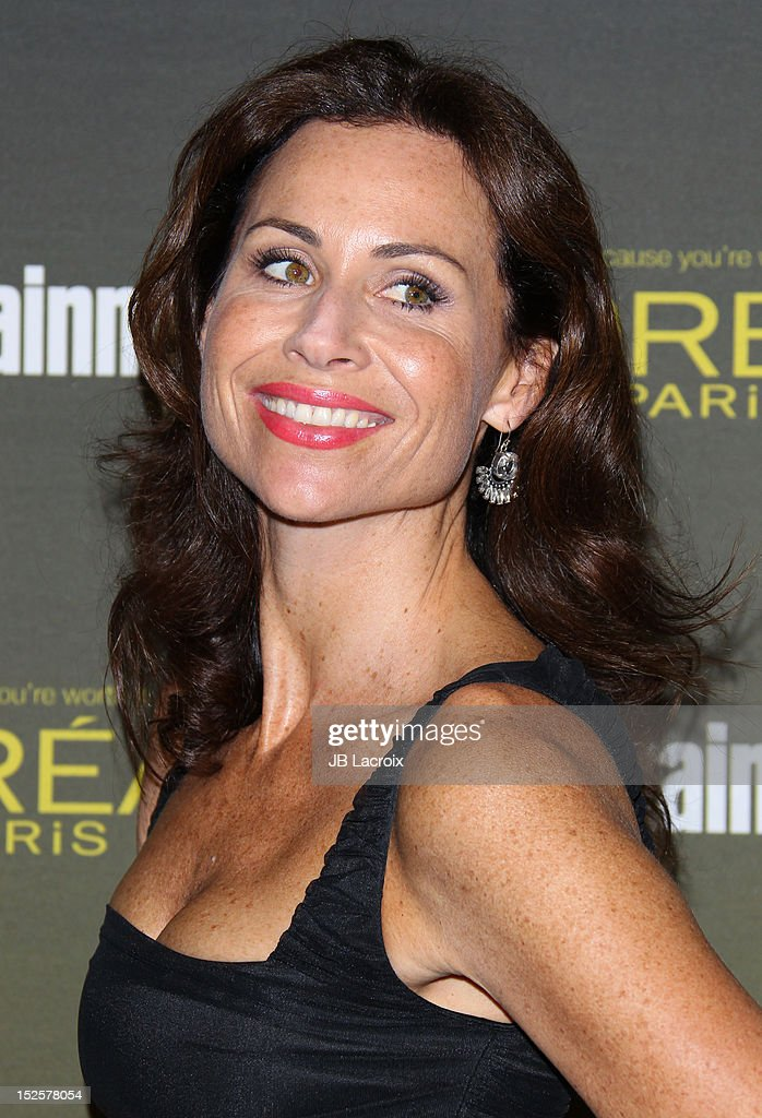 Minnie Driver attends the 2012 Entertainment Weekly Pre-Emmy Party at Fig & Olive Melrose Place on September 21, 2012 in West Hollywood, California.