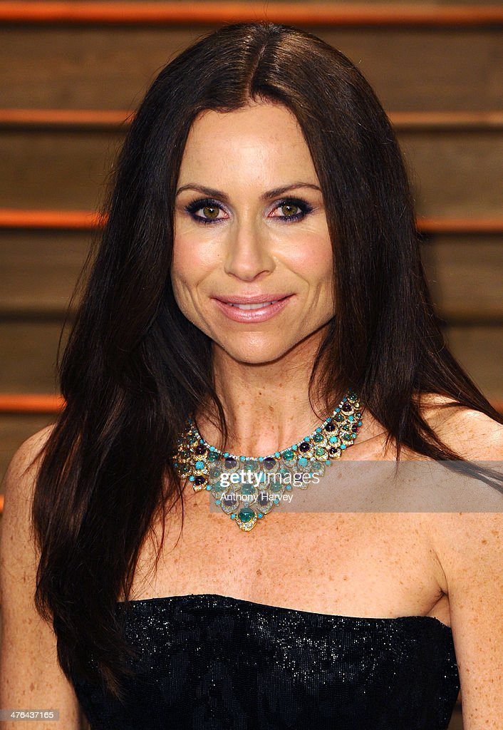 Minnie Driver attends the 2014 Vanity Fair Oscar Party hosted by Graydon Carter on March 2, 2014 in West Hollywood, California.