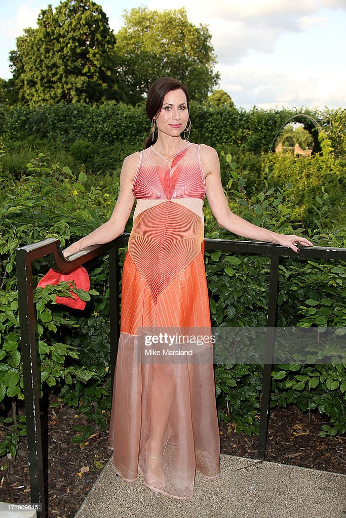 <a gi-track='captionPersonalityLinkClicked' href=/galleries/search?phrase=Minnie+Driver&family=editorial&specificpeople=201884 ng-click='$event.stopPropagation()'>Minnie Driver</a> attends the launch party for the Fashion Rules exhibition, a collection of dresses worn by HRH Queen Elizabeth II, Princess Margaret and Diana, Princess of Wales at Kensington Palace on July 4, 2013 in London, England.