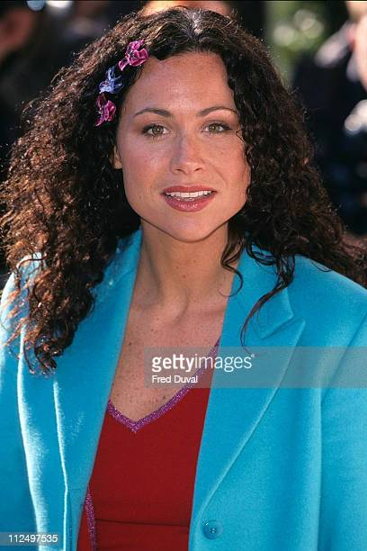 Minnie Driver during 2000 Empire Film Awards at Park Lane Hotel in London Great Britain