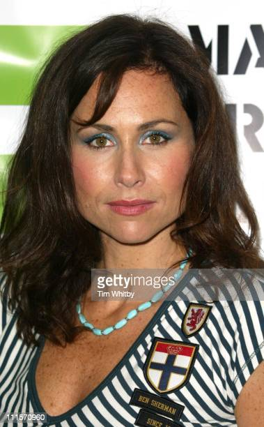 Minnie Driver during 'Make Trade Fair' Concert Photocall at Hammersmith Apollo in London Great Britain