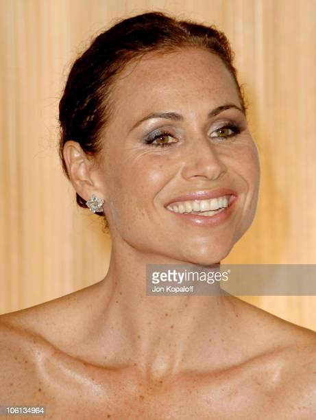 Minnie Driver during MercedesBenz Presents the 17th Carousel of Hope Ball Arrivals at Beverly Hilton Hotel in Beverly Hills California United States