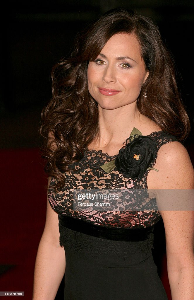 Minnie Driver during 'The Phantom of the Opera' London Premiere - Arrivals at Odeon Leicester Square in London, England, Great Britain.