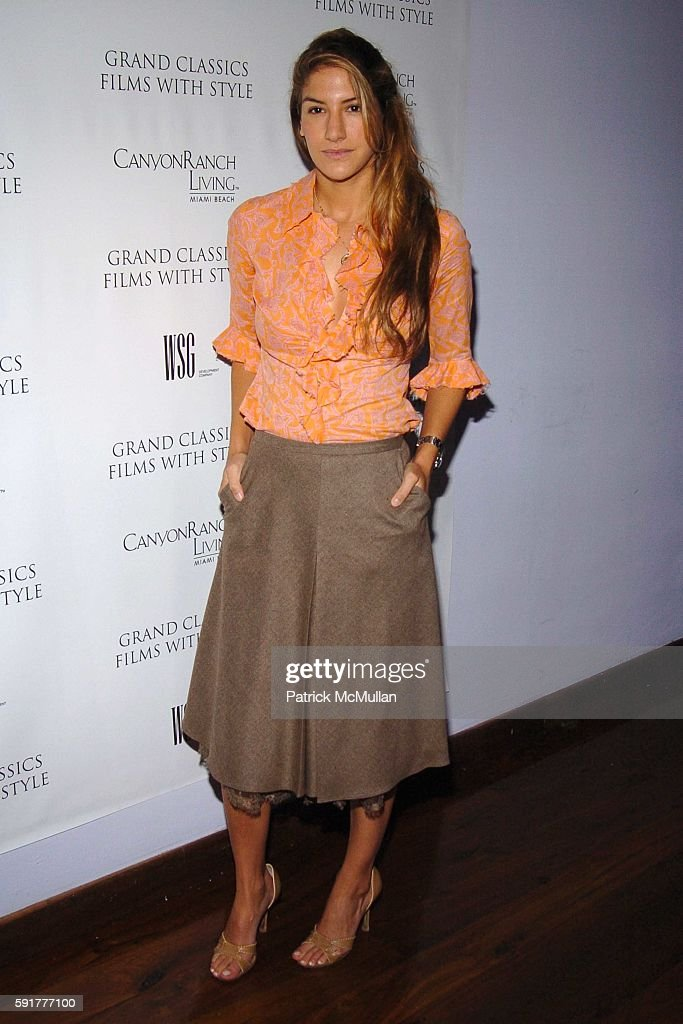 Minnie Mortimer attends Grand Classics Films With Style hosted by Carolina Herrera and sponsored by WSG/Canyon Ranch Living and Harry Winston at Soho...