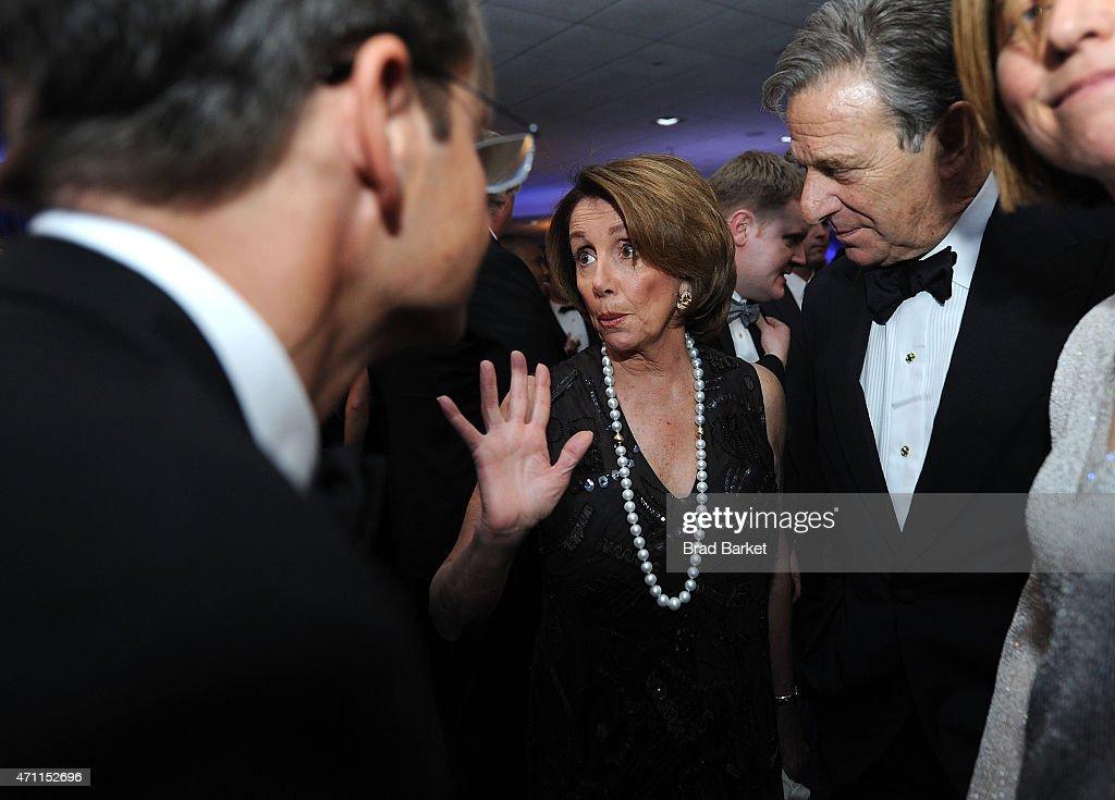 Minority Leader of the United States House of Representatives Nancy Pelosi attends The Washington Post White House Correspondents' Pre-Dinner Reception at The Washington Hilton on April 25, 2015 in Washington, DC.