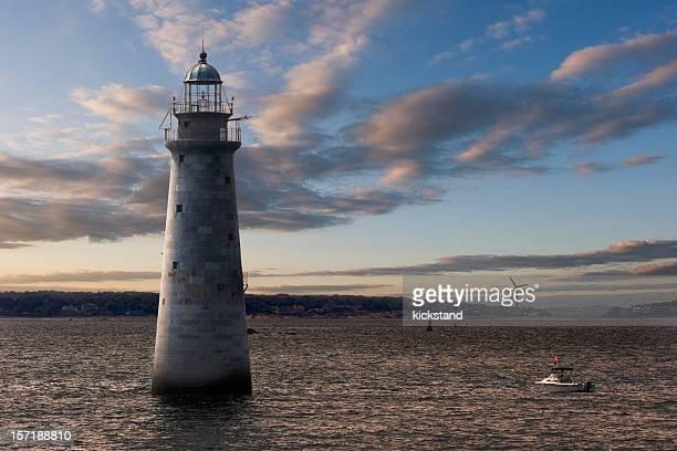 Minots Ledge Light, Boston Harbor
