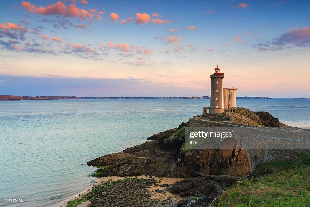 Minou lighthouse in France