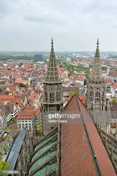 Minster's roof and Ulm view, Germany
