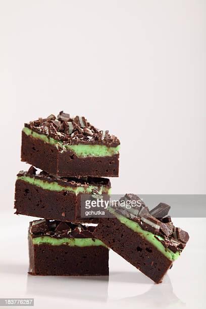 Schokoladen-Fudge Brownies