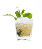 called a mint julep cocktail, made with bourbon and mint