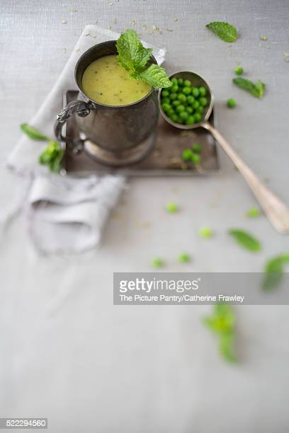 Mint & Pea Homemade Soup