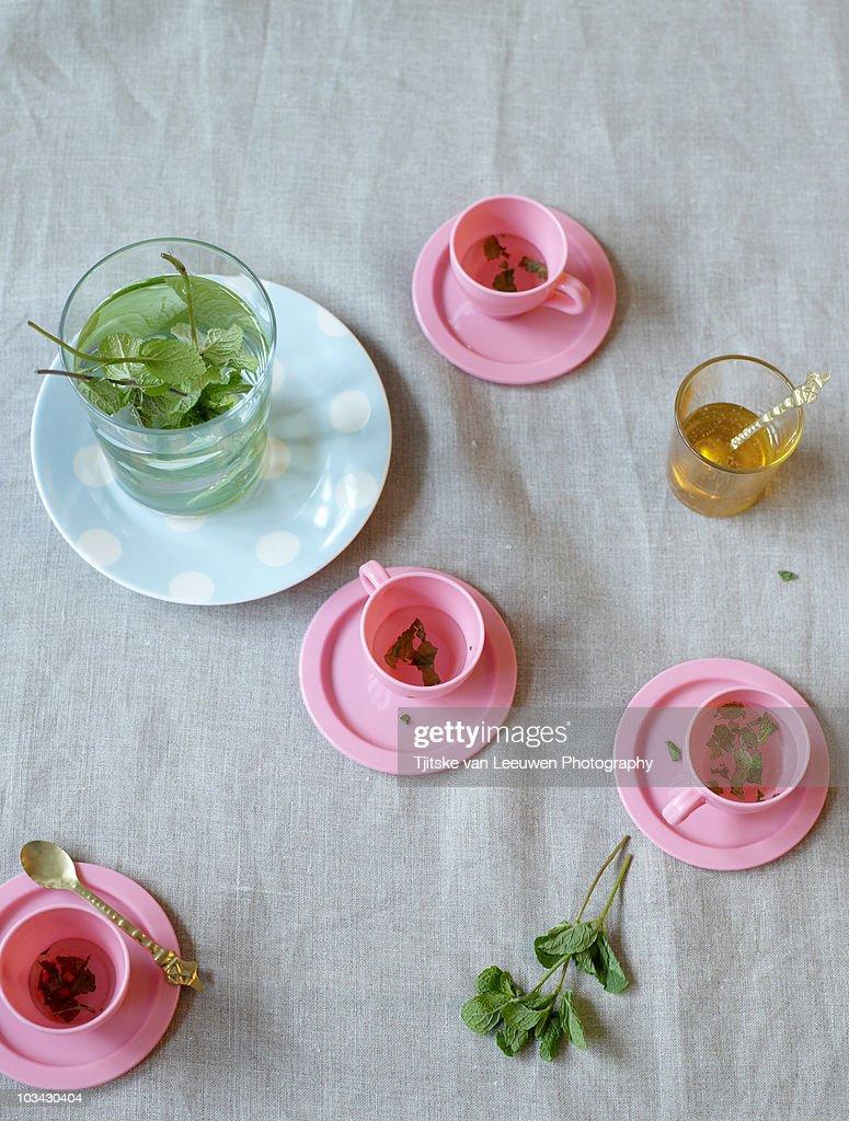 Mint tea : Stock Photo