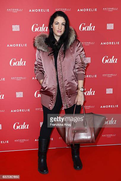 Minu Barati attends the 'Gala' fashion brunch during the MercedesBenz Fashion Week Berlin A/W 2017 at Ellington Hotel on January 19 2017 in Berlin...