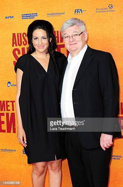 Minu BaratiFischer and Joschka Fischer attend the 'Ausgerechnet Sibirien' Premiere at Kulturbrauerei on May 9 2012 in Berlin Germany