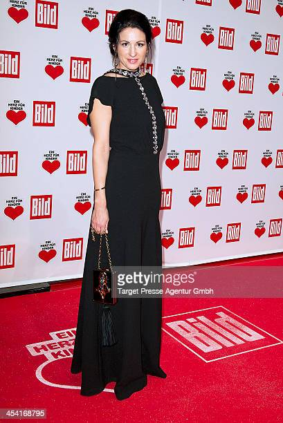 Minu BaratiFischer attends the 'Ein Herz Fuer Kinder Gala 2013' at Flughafen Tempelhof on December 7 2013 in Berlin Germany