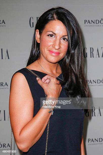 Minu BaratiFischer attends the Pandora At Grazia Best Dressed Award at Soho House on May 14 2014 in Berlin Germany