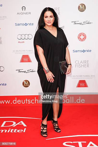 Minu BaratiFischer during the German Film Ball 2016 at Hotel Bayerischer Hof on January 16 2016 in Munich Germany