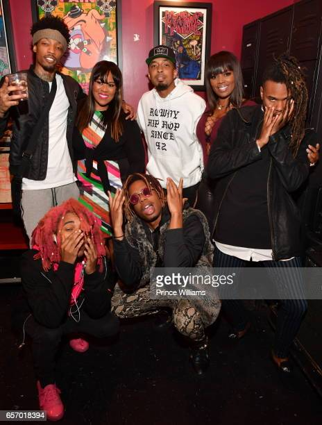 Minus Gravity Sonny Digital Mekeba Riddick Dallas Austin and Catherine Brewton attend BMI 'How I Wrote This' at Hard Rock Cafe on March 22 2017 in...