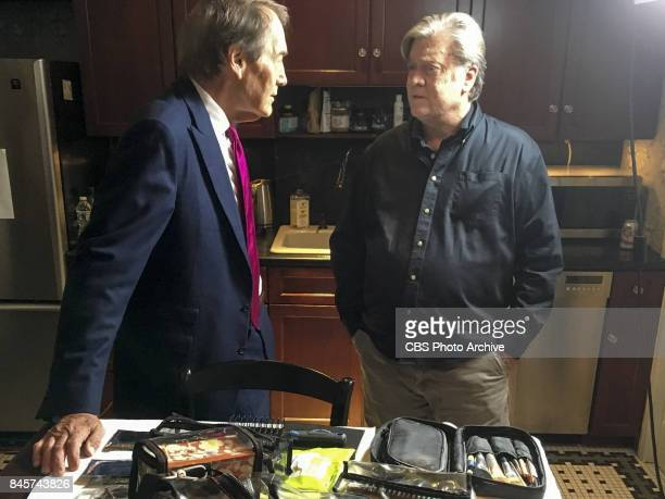Charlie Rose interviews Steve Bannon in Washington DC at Breitbart offices