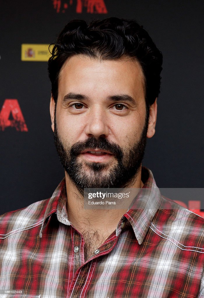 Miquel Fernandez attends 'Alpha' press conference photocall at Princesa cinema on October 28, 2013 in Madrid, Spain.