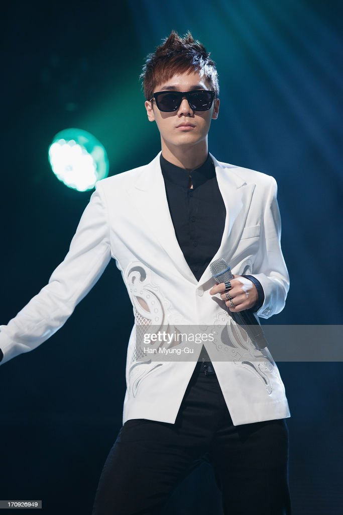 Mir of South Korean boy band MBLAQ performs onstage during the Mnet 'M CountDown' at CJ E&M Center on June 20, 2013 in Seoul, South Korea.
