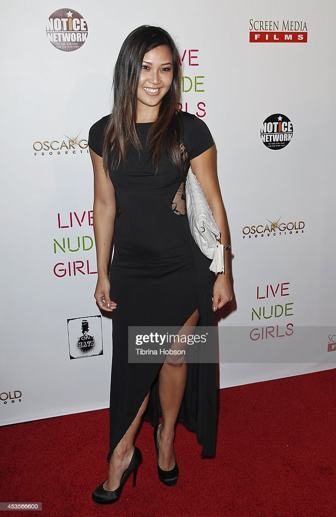 Mira Carr attends the 'Live Nude Girls' premiere at Avalon on August 12, 2014 in Hollywood, California.