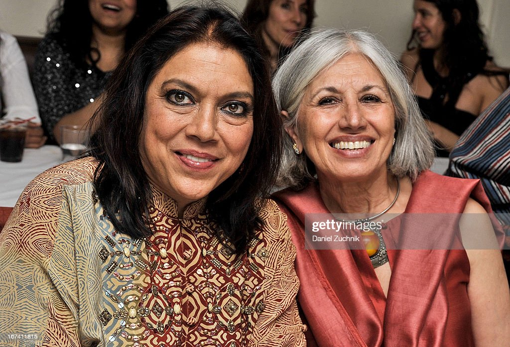 Mira Nair and Aroon Shivdasani attend the after party following 'The Reluctant Fundamentalist' screening during the 2013 New York Indian Film Festival at Yuva on April 24, 2013 in New York City.