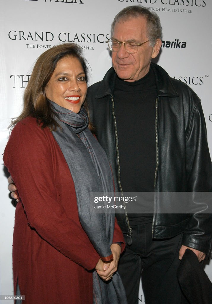 Mira Nair and Sydney Pollack at the Grand Classics screening of 'Tootsie' sponsored by The Week