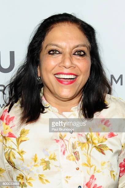 Mira Nair attends 'The Beguiled' New York Premiere Arrivals at Metrograph on June 22 2017 in New York City
