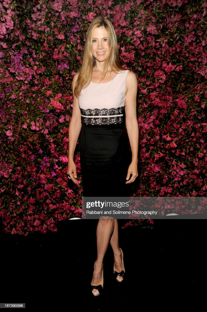 Mira Sorvino attends 8th Annual Chanel Artists Dinner during the 2013 Tribeca Film Festival at Odeon on April 24, 2013 in New York City.