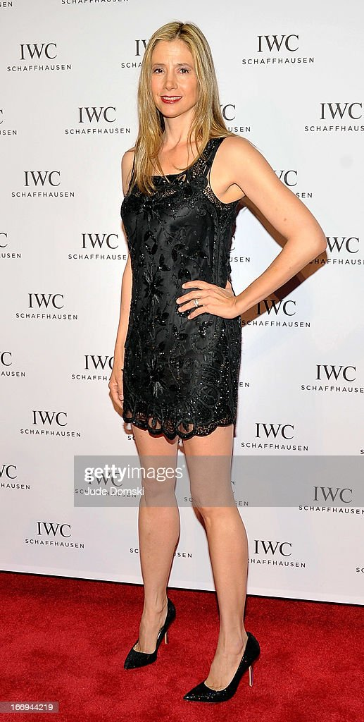 <a gi-track='captionPersonalityLinkClicked' href=/galleries/search?phrase=Mira+Sorvino&family=editorial&specificpeople=203143 ng-click='$event.stopPropagation()'>Mira Sorvino</a> attends IWC And Tribeca Film Festival Celebrate 'For The Love Of Cinema' at Urban Zen on April 18, 2013 in New York City.
