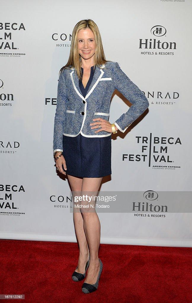 Mira Sorvino attends the 2013 Tribeca Film Festival Awards at the Conrad New York on April 25, 2013 in New York City.