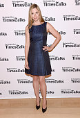Mira Sorvino attends 'TimesTalks' at Times Center on July 24 2014 in New York City