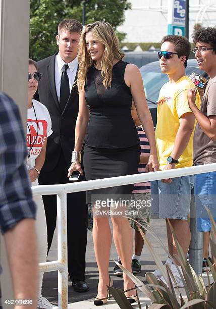 Mira Sorvino is seen at ComicCon on July 26 2014 in San Diego California