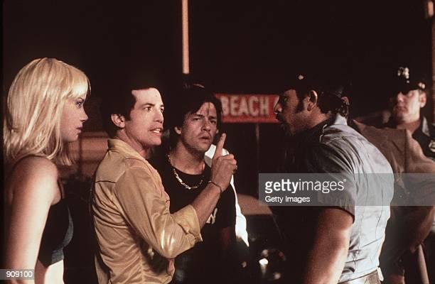 Mira Sorvino John Leguizamo Anthony LaPaglia and Nelson Vasquez star in Spike Lee's new movie 'Son of Sam'