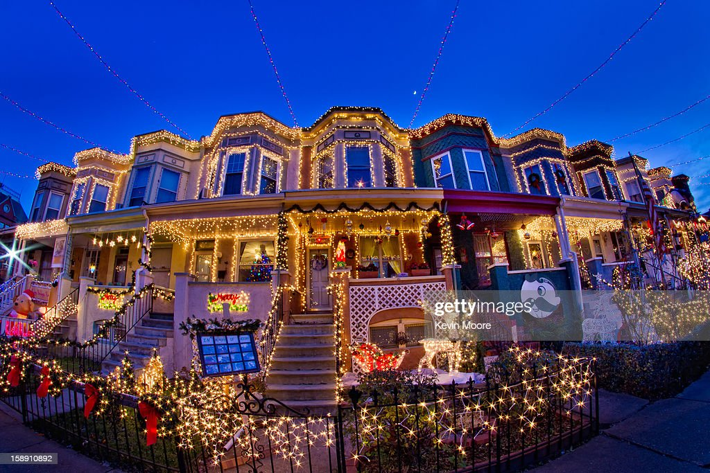 CONTENT] Miracle on 34th Street makes most people think of the Natalie Wood Holiday movie, but in Baltimore they think lights. Lots of lights! 34th Street in Hampden, a baltimore neighborhood puts on a Christmas light display that is surely visible from space. Neighbors in this block of row houses string Christmas lights across 34th Street. It's become a tourist attraction for travelers.