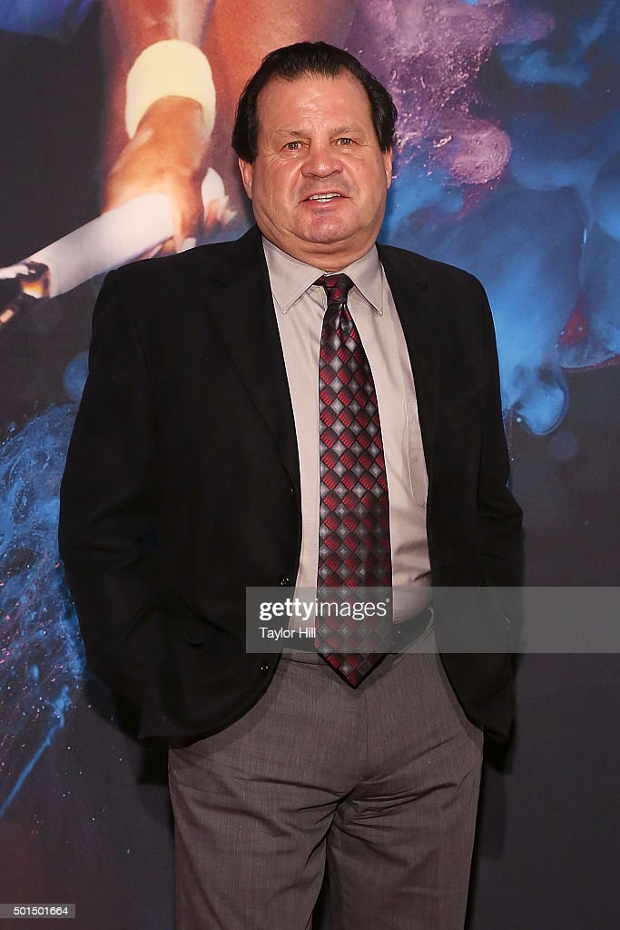 Miracle on Ice Hockey captain Mike Eruzione attends the 2015 Sports Illustrated Sportsperson Of The Year Ceremony at Pier Sixty at Chelsea Piers on December 15, 2015 in New York City.