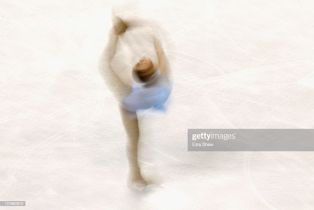<a gi-track='captionPersonalityLinkClicked' href=/galleries/search?phrase=Mirai+Nagasu&family=editorial&specificpeople=4125421 ng-click='$event.stopPropagation()'>Mirai Nagasu</a> competes during the ladies free skate program during the 2012 U.S. Figure Skating Championships at HP Pavilion on January 28, 2012 in San Jose, California.